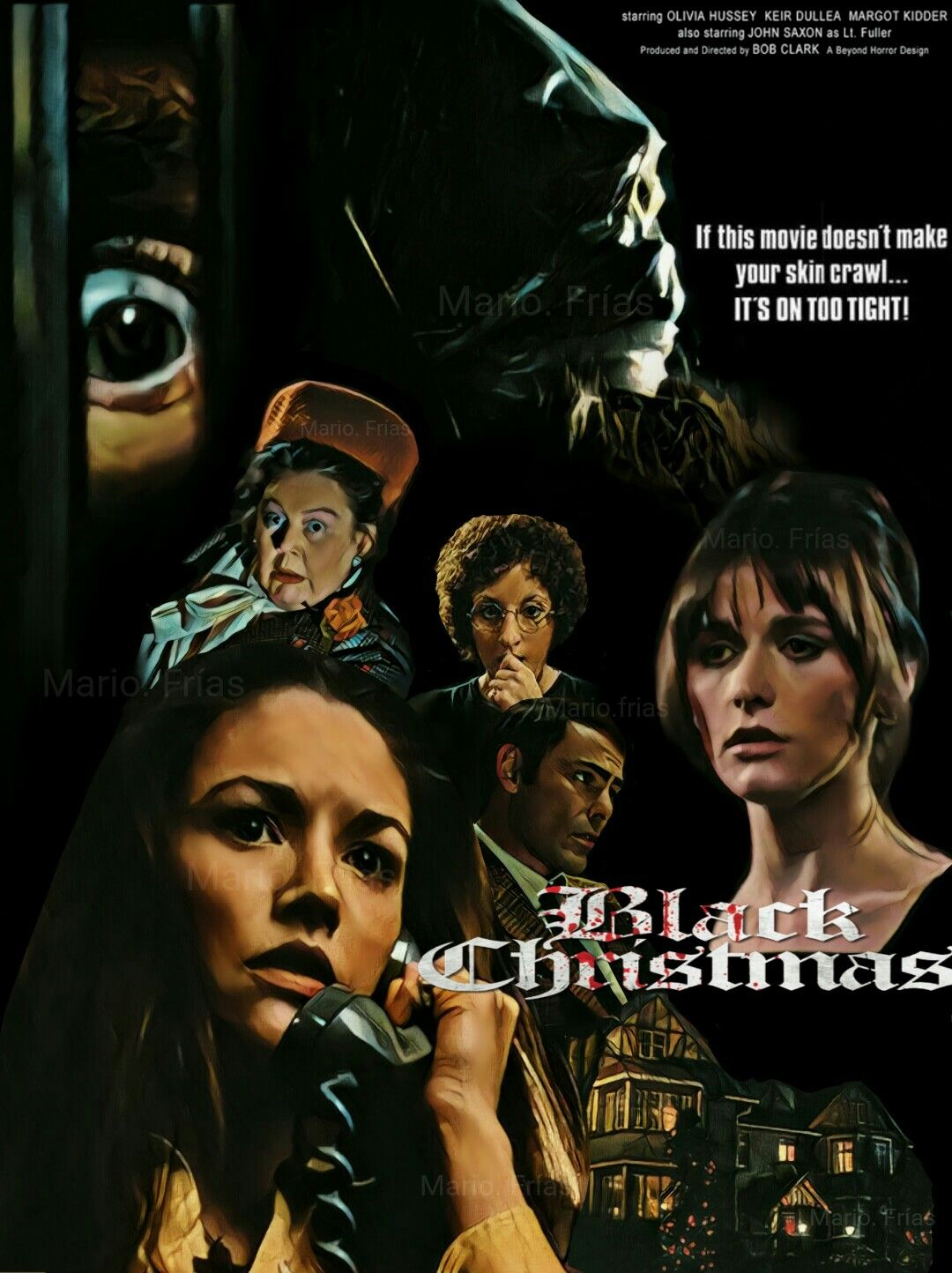 Black Christmas 1974 Horror Movie Slasher Fan Made Edit By Mario. Frías