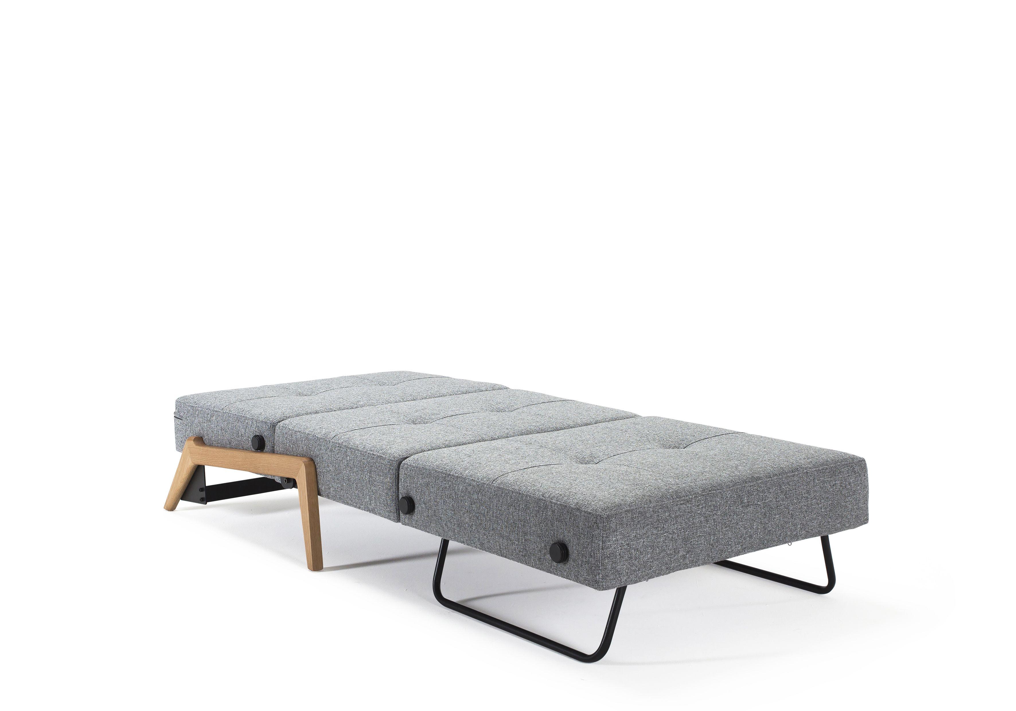 Cubed 90 With Oak Legs Sofa Bed Australia New Nordic Bag Display Wood