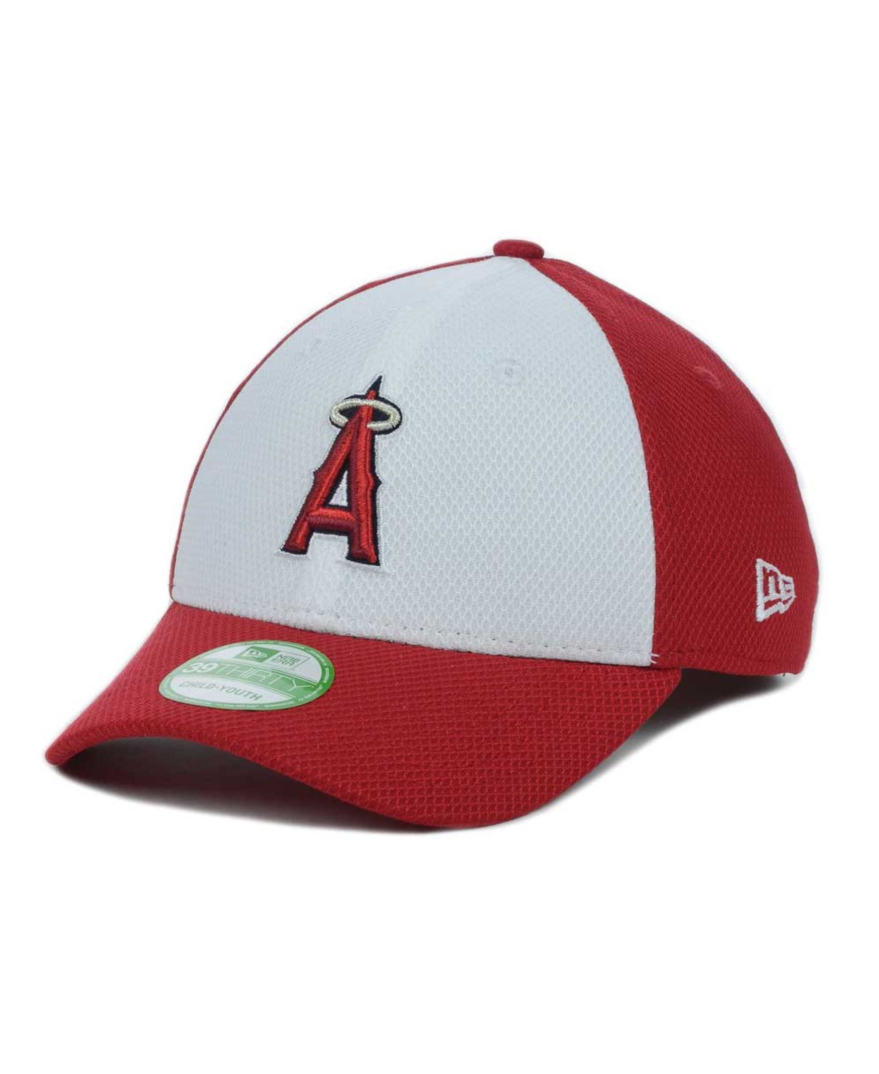 buy popular 5da5d 97d57 New Era Kids  Los Angeles Angels of Anaheim Diamond Era 39THIRTY Cap