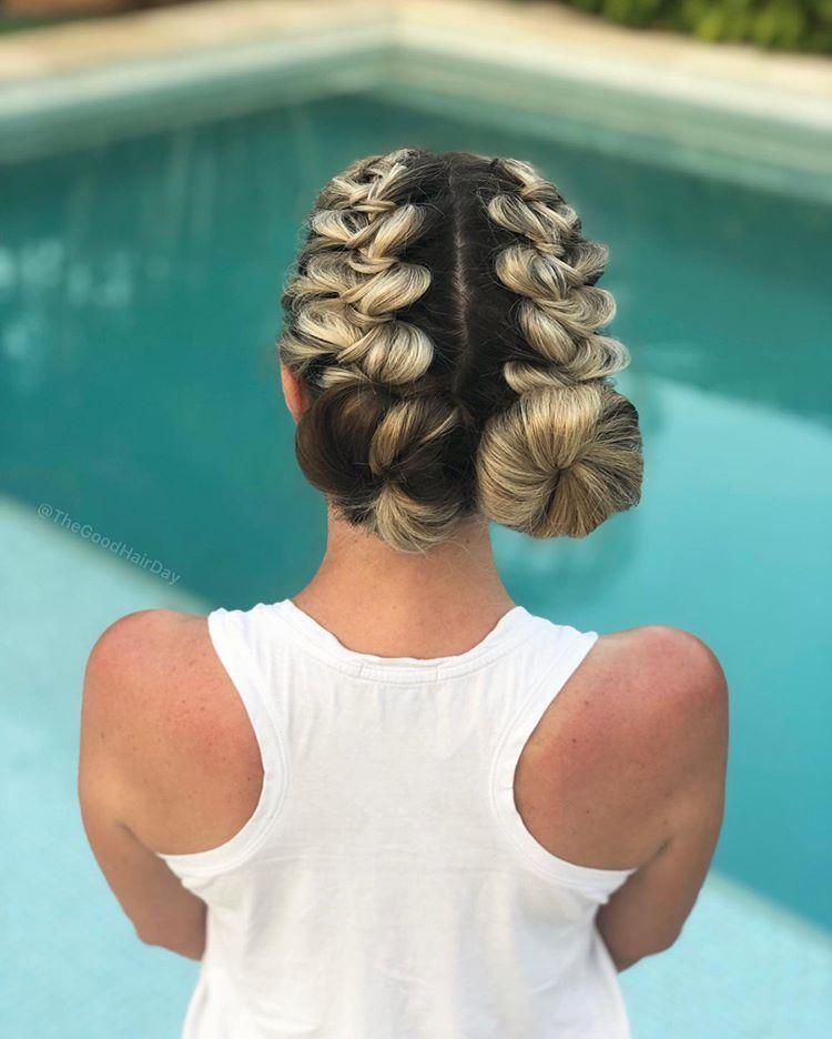 Mesh Hair Desing In 2020 Hair Styles Easy Hairstyles Easy Hairstyles For Long Hair