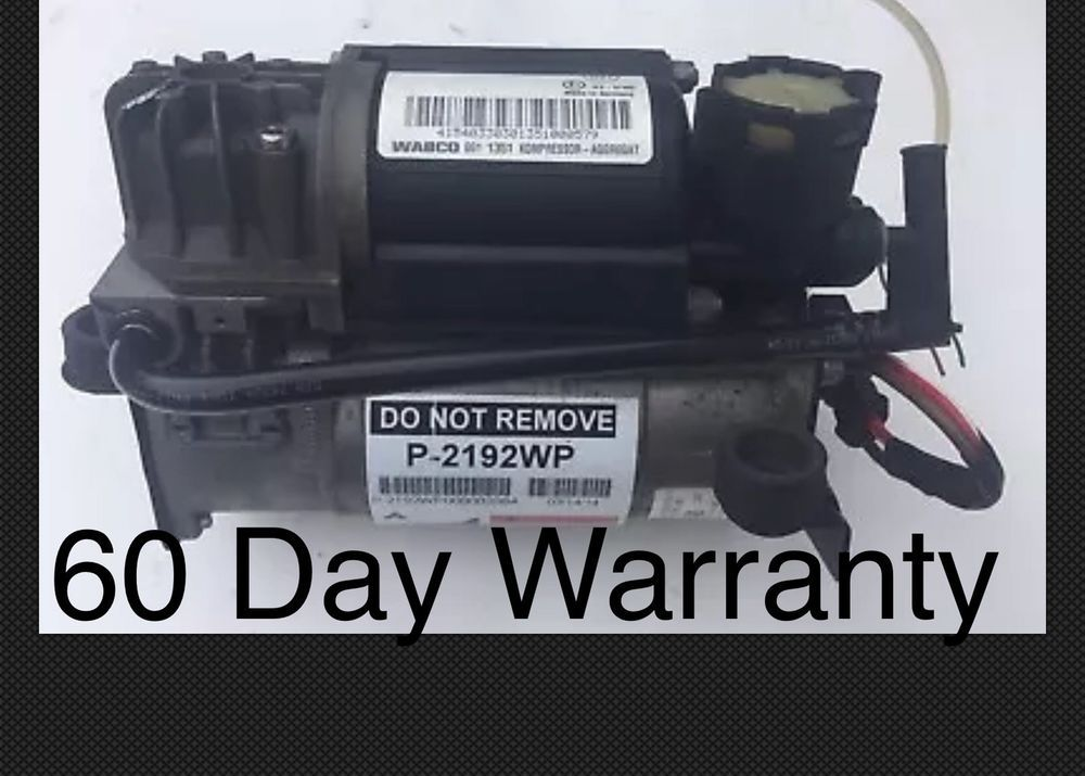 03 06 Mercedes E500 Air Ride Suspension 4154033030 Compressor Cl500 Wabco Air Ride Mercedes Riding