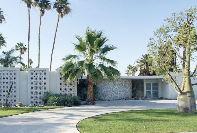 Mid century design · palm springs