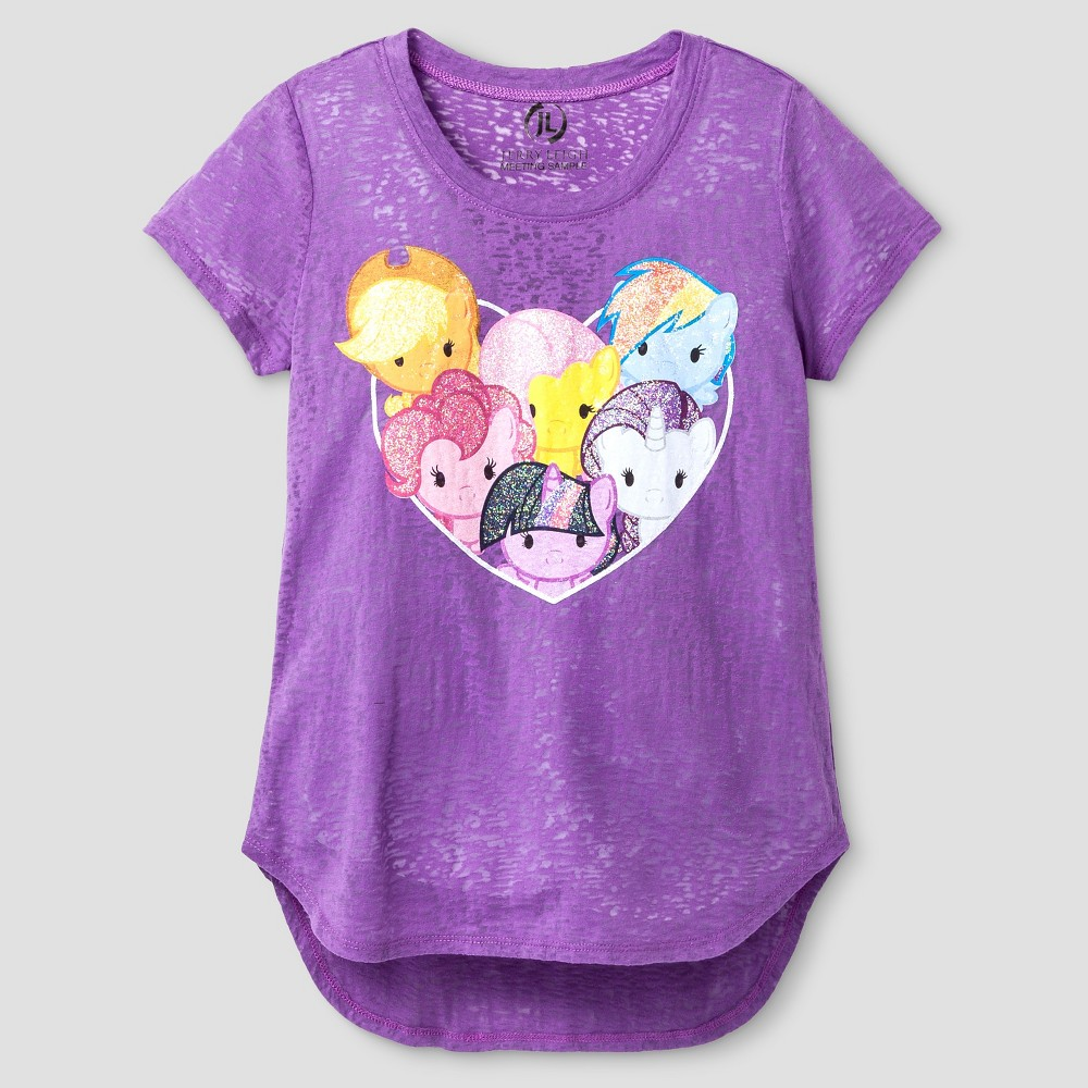 80bd9be1 ... Little Pony Short Sleeve Tee brightens her wardrobe. This graphic tee  is packed with delightful style elements and characters she loves. Size: Xs  (4-5).