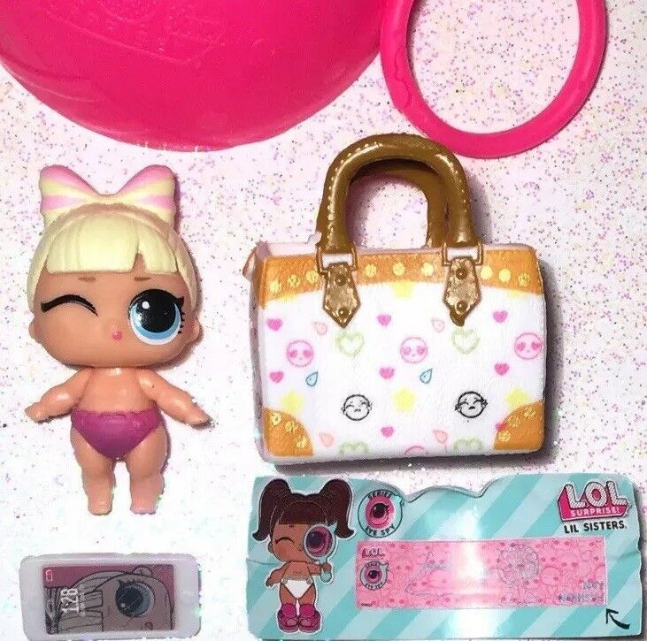LOL Surprise Lil Sweet Suite Princess Doll EyeSpy Series Ball Color Changer NEW