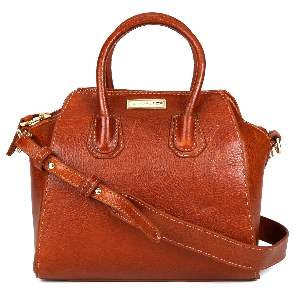 e2222b5e4 Bolsa Luiza Barcelos Mini Bag Marrom | Zattini | Bolsas e calçados ...