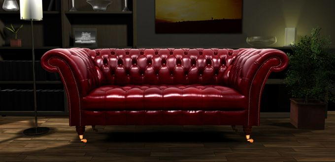 Deep Red Chesterfield Sofa Chesterfield Sofa Red Leather Chesterfield Sofa Red Interior Design