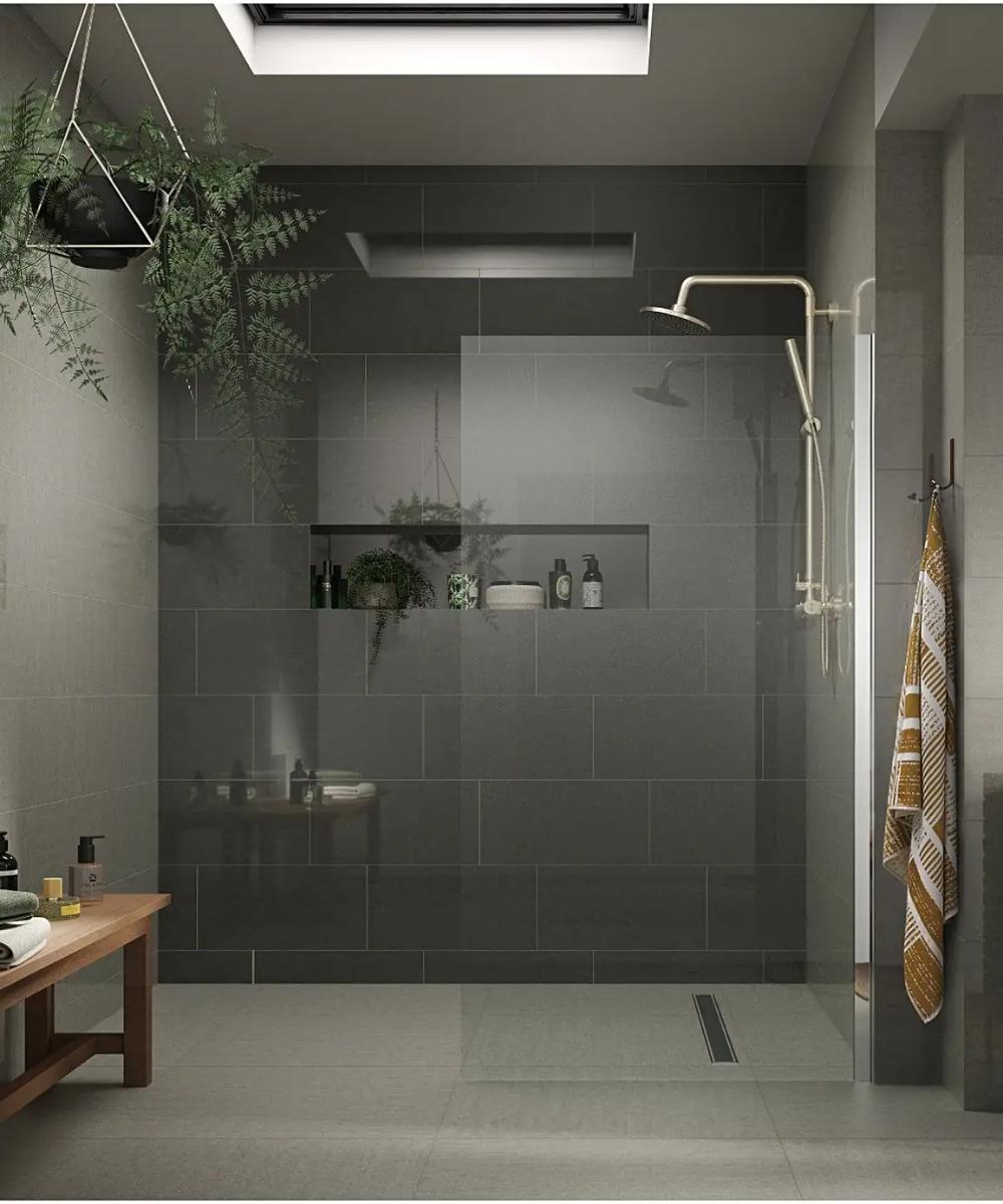 Regal Vanilla Polished Tile 60cm X 30cm Topps Tiles Color Tile Bathroom Interior
