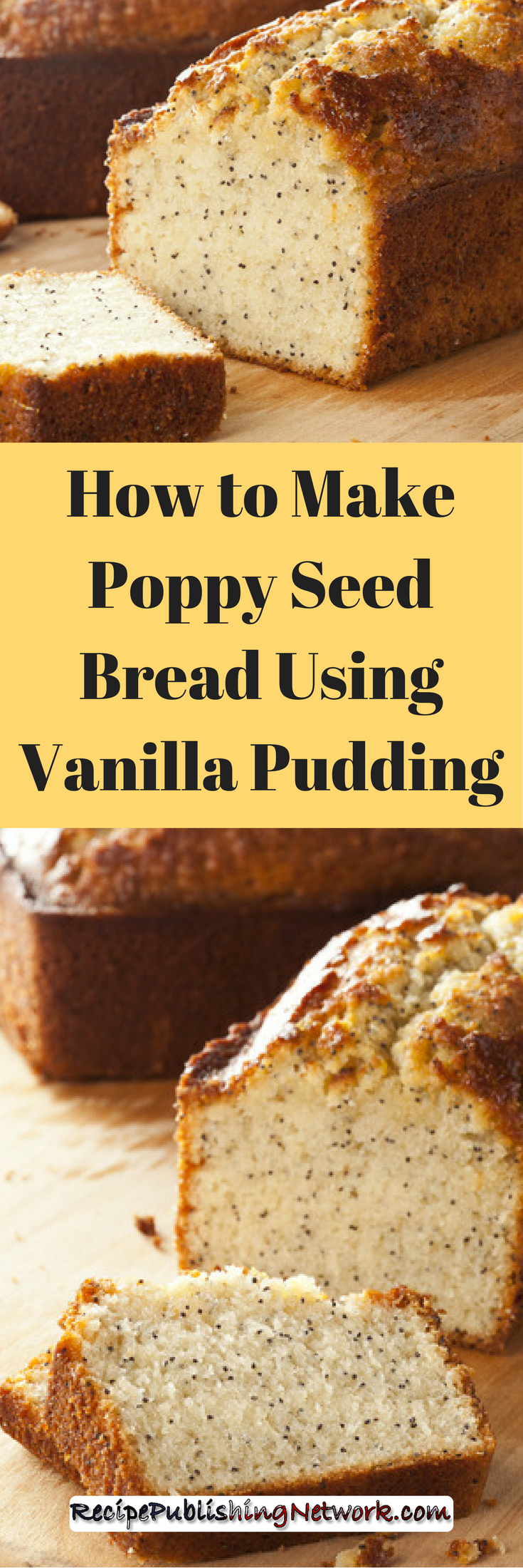 If you fancy bread that is more like a cake in texture and taste this delightful fresh baked loaf will fill the bill nicely. It is super easy to make because it use a few packaged mixes to help pull it all together.