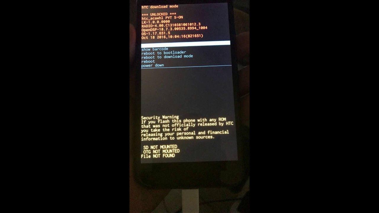 Unlock GSM network HTC Bolt 2PYB2 Sprint   simcard unlocking
