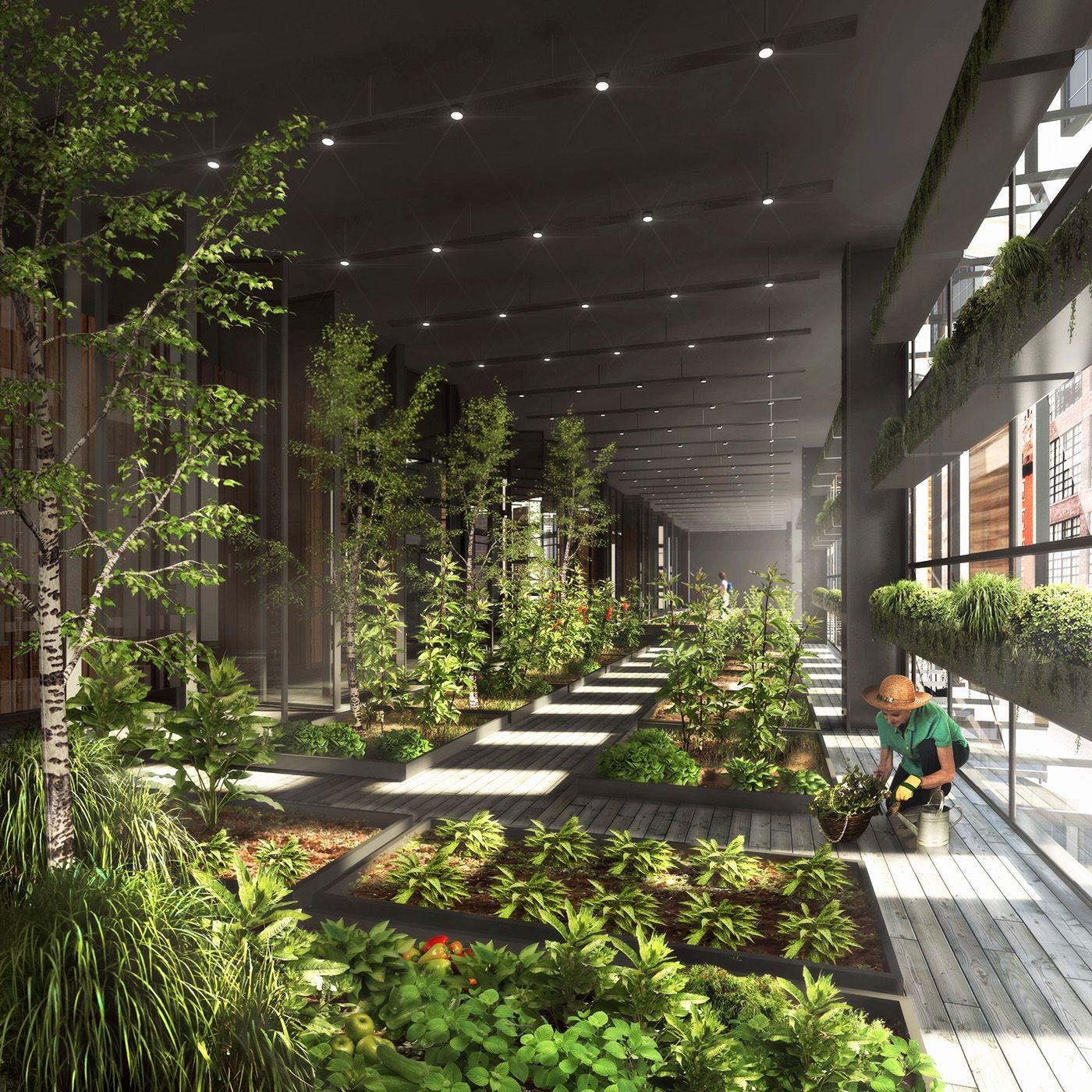 // New York City Vertical Farm by Natural Light Design ...