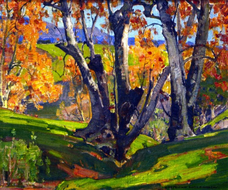 "William Wendt – ""November Days"" 1935"