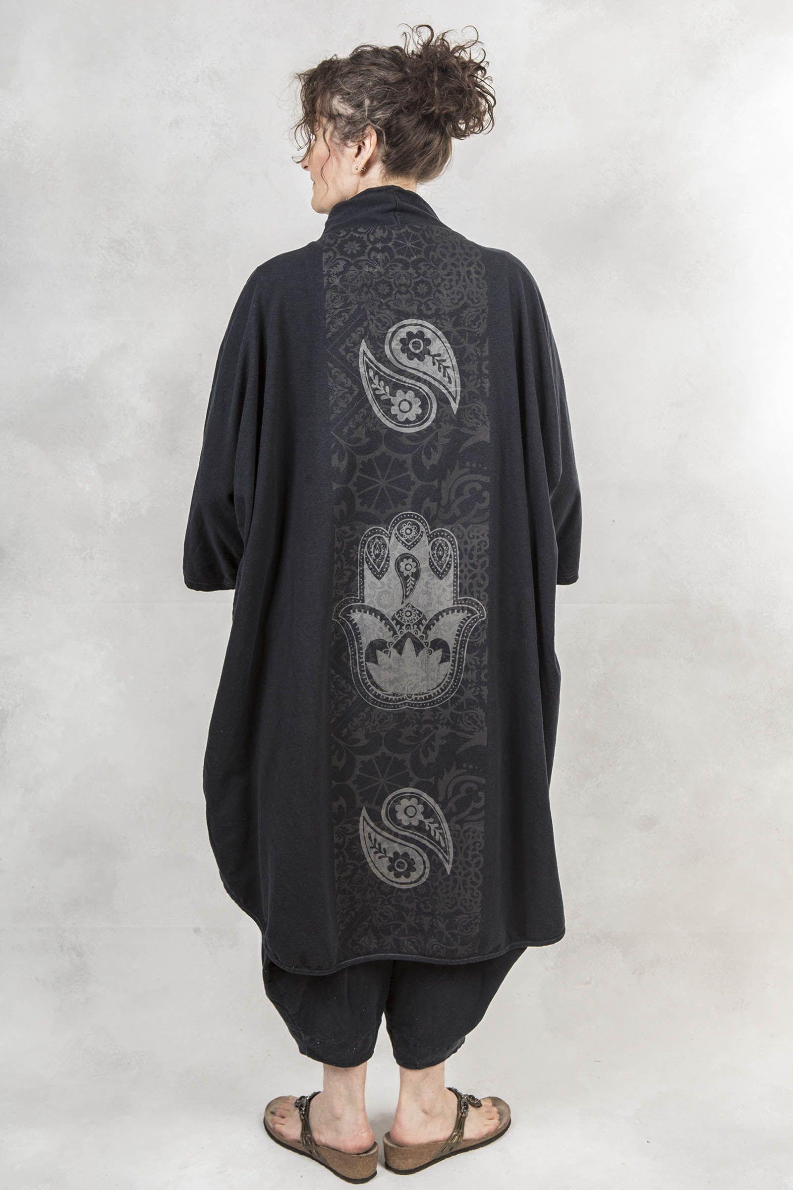 Kimono Jacket PrintedBlue Fish Clothing (With images