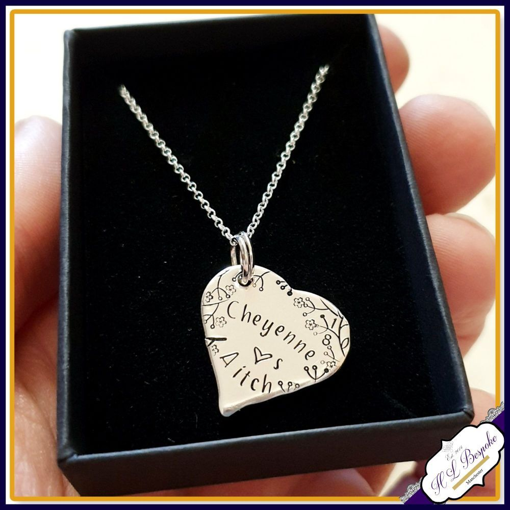 Personalised 18th Birthday Pendant Necklace Gift