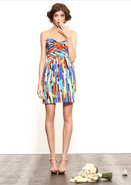 3dcced3576d3 Colorful dress + Nude heels! Colorful dress + Nude heels! Cute Dresses ...