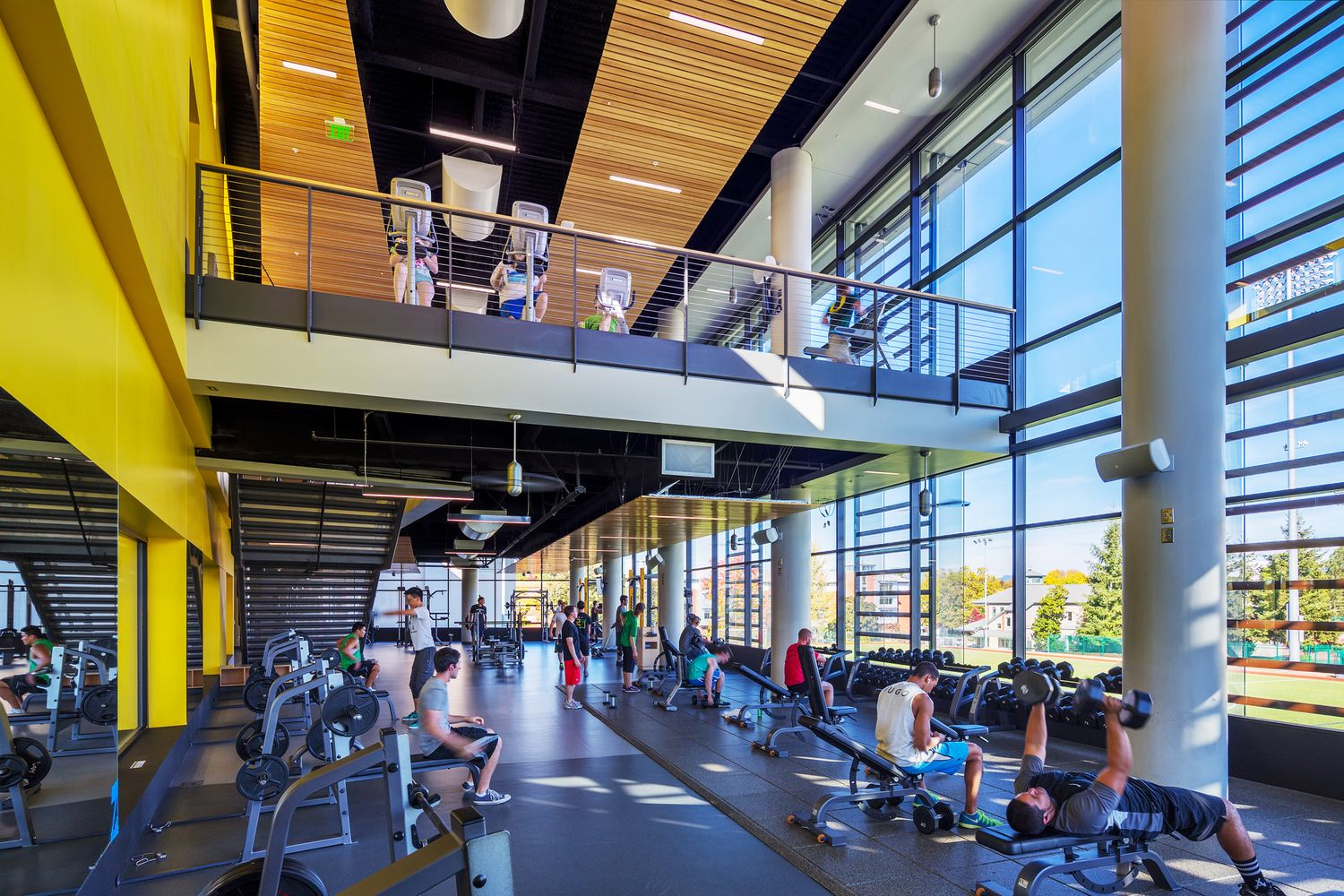 Gallery of Student Recreation Center Expansion and