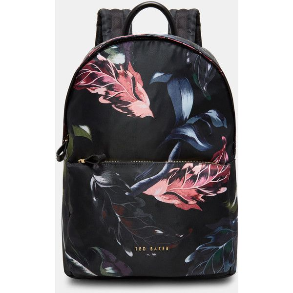 a3429fdf59f Ted Baker Eden backpack ( 169) ❤ liked on Polyvore featuring bags, backpacks ,
