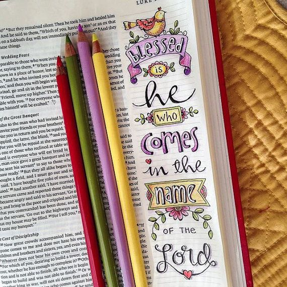 Luke 10 13 BIBLE Bookmarks Art Journaling Illustrated Faith Instant Download Scripture Digital Printable Christian Religious