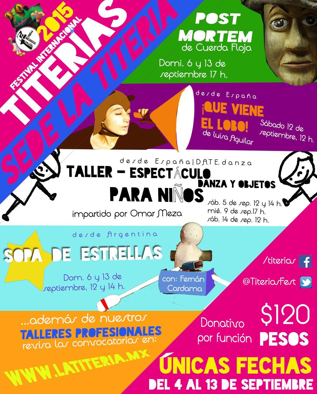 11º Festival Internacional Titerias