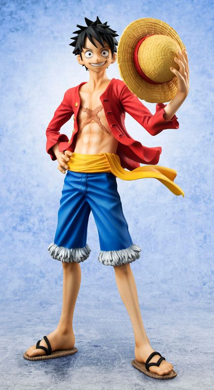 "One Piece POP Sailing Again New World Luffy 8/"" Toy Figure Doll Statue New in Box"