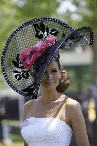 d6cc87064c002 Slideshow of hats worn by Royal Ascot 2010 racegoers