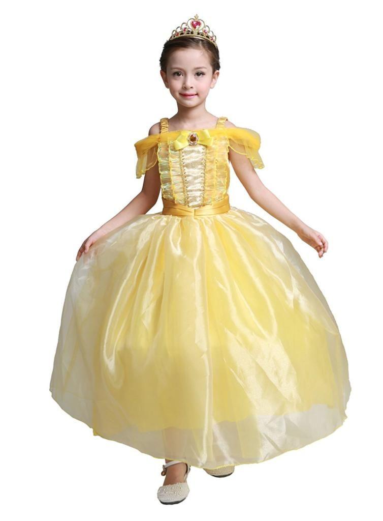 Dressy Daisy Girls Princess Cinderella Costume Dress Halloween Party Fancy Dress