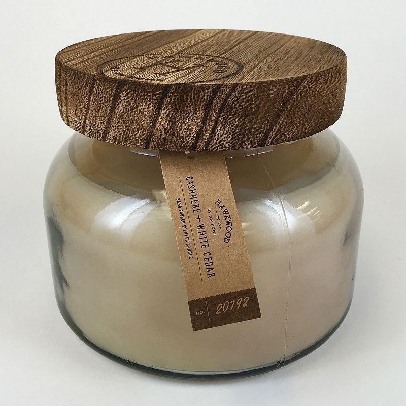 Hawkwood 18.6-oz. Cashmere & White Cedar Candle Jar, Grey