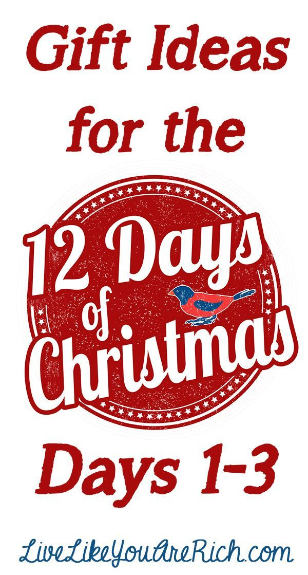 fun gift ideas for the 12 days of christmas livelikeyouarerich christmas christmasgiftideas