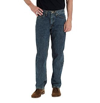 Lee Men's Relaxed Fit Straight Jeans