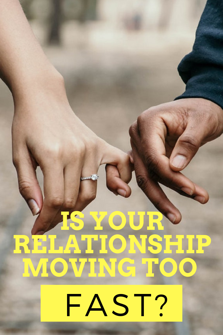 GRACIE: Signs of moving from dating to relationship