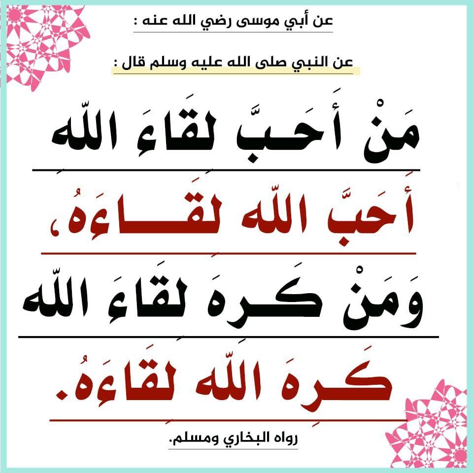 الموت هو باب لحياة لا شقاء فيها ولا مرض ولا فقد ولا ألم Islamic Quotes Quotes How Are You Feeling