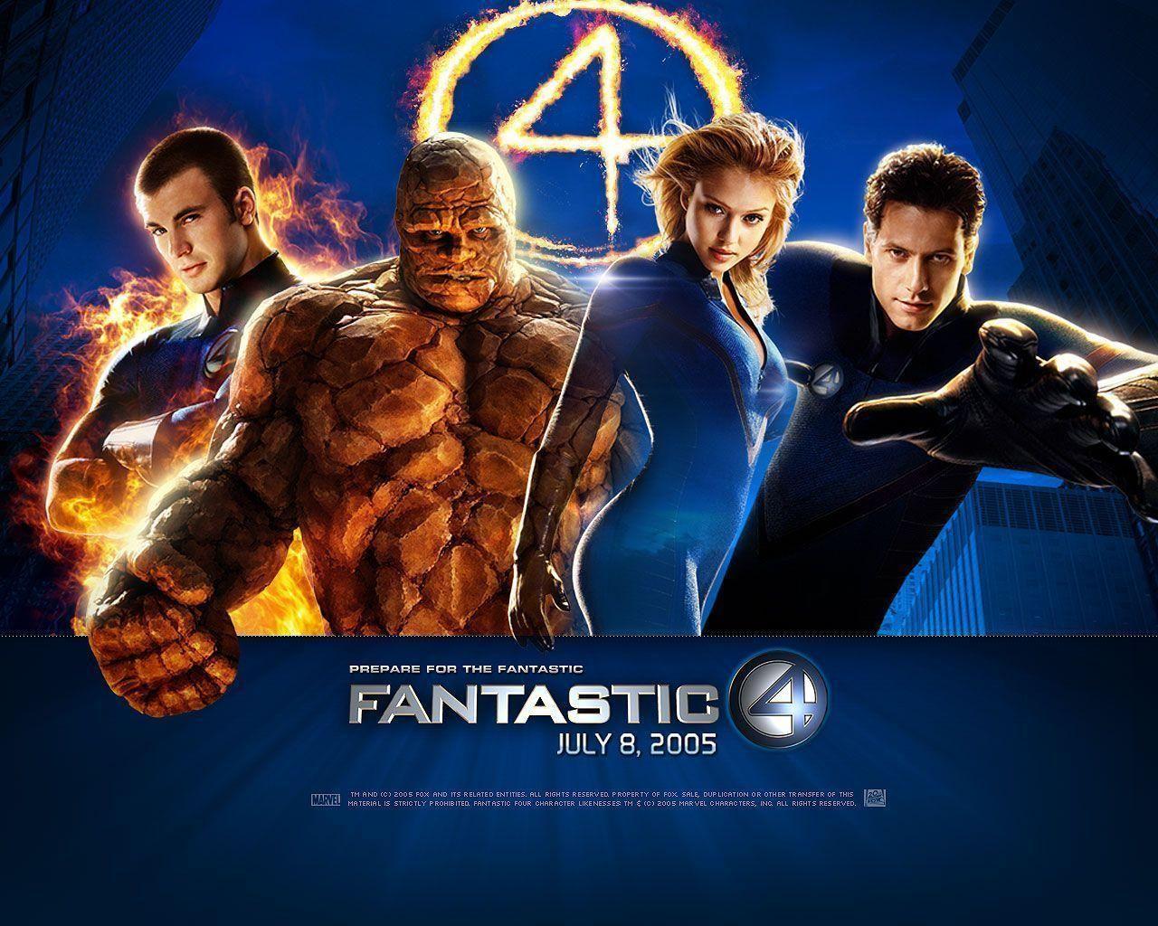Fantastic Four Wallpaper Hd Fantastic Four Film Manusia