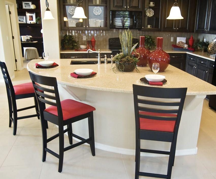 Circular Kitchen Island   Kitchens and Cupboard