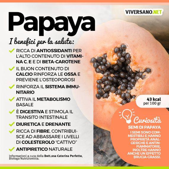 benefici della papaia per la perdita di peso