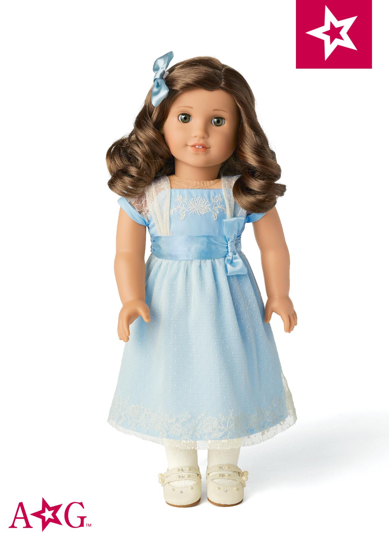 Doll Socks fitting 18 in American Girl Dolls White Frog SOCKS!