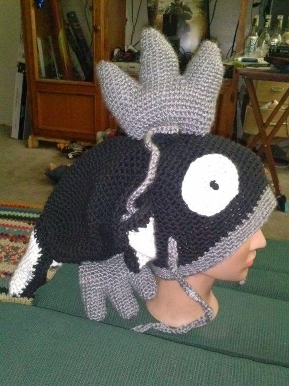 cute crochet pokemon magikarp beanie! made with caron yarn for an ...