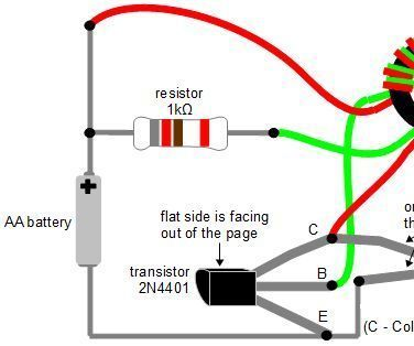 Make a Joule Thief Coil Without a Ferrite Toroid | Joule thief