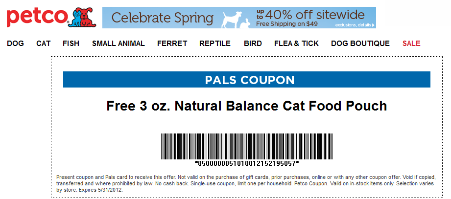 Petco Deal Free Dog Food Dog Food Recipes Cat Food
