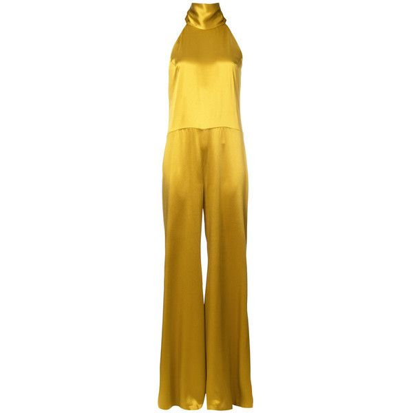 d44f84256c4 Galvan Gold Wide Leg Jumpsuit ( 1