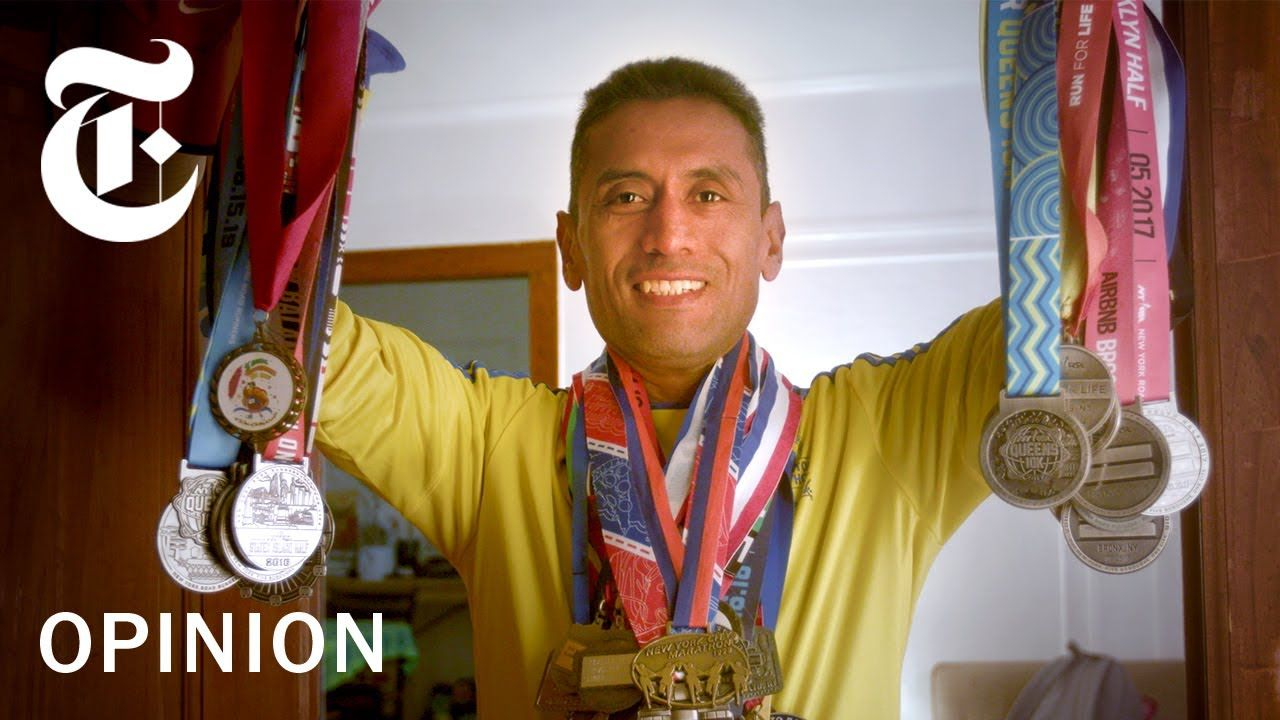 How A 46 Year Old Marathon Runner Keeps Getting Faster Nyt Opinion Marathon Runners Marathon New York Marathon
