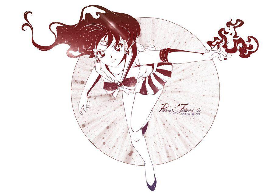 Sailor Mars by Pillara.deviantart.com on @DeviantArt   Rei Hino ...