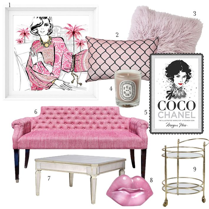 Megan Hess room inspiration. Melanie Morel has done another ...