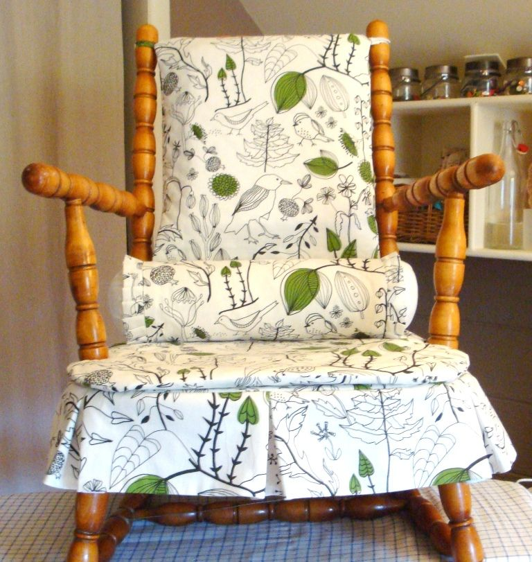 Cricket Chair Redo in 2020 Rocking chair covers