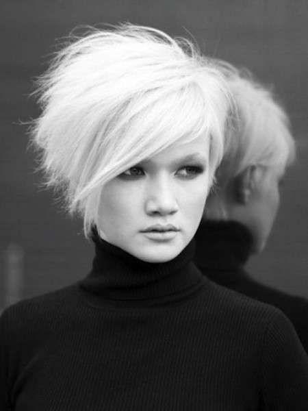 Tagli capelli corti femminili 2014 per viso tondo | Tagli ...