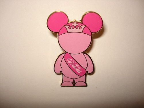 Disney Pin Trading Mouse Ears People Pink Princess Vinylmation Art Toy Figure | eBay