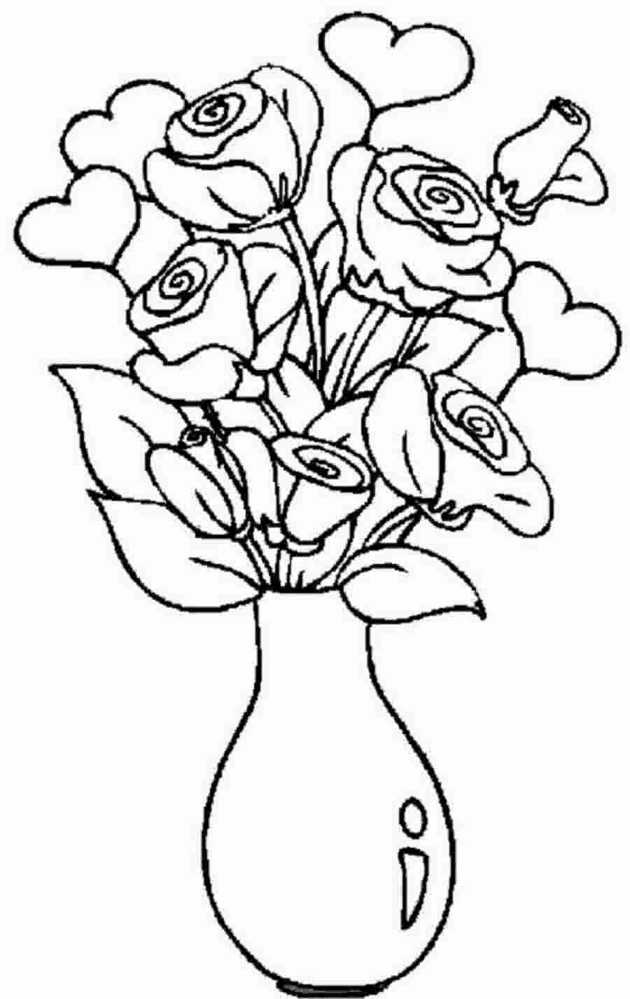 Pin on Malvorlagen Rosen