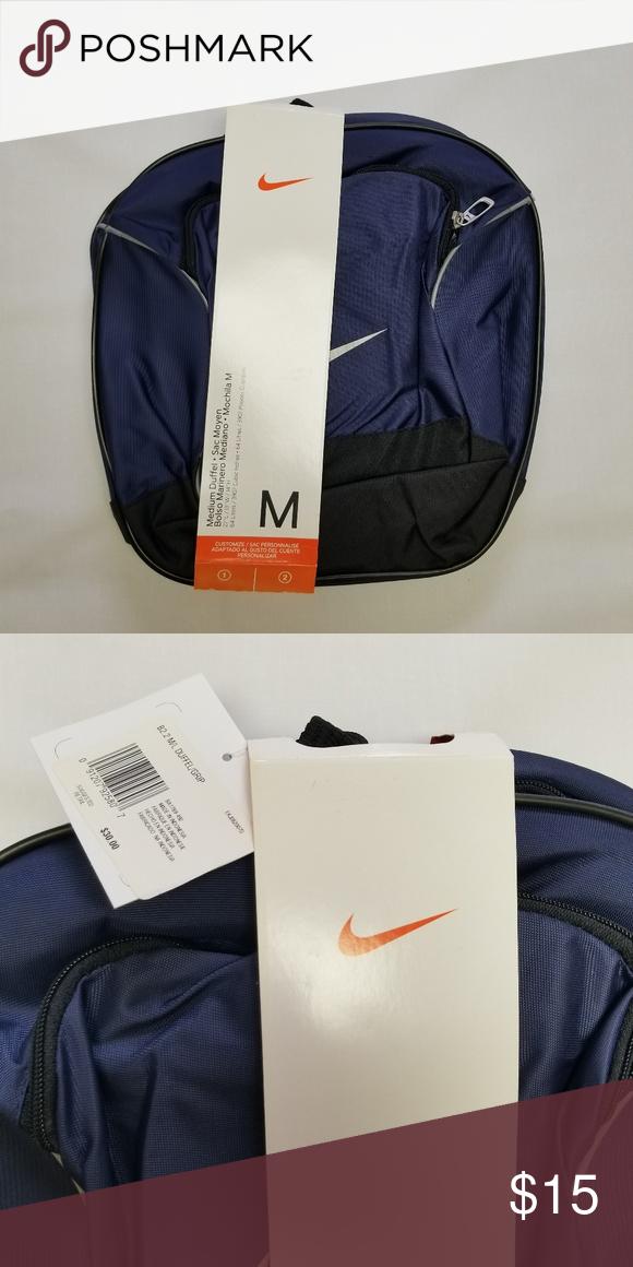 39a89bd54d NIKE medium size Duffel bag Big swoosh on the long side small swoosh on  small side