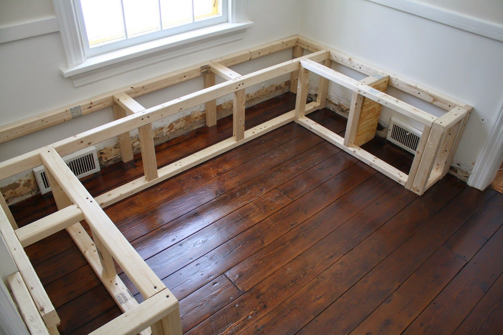 Breakfast Nook Bench Plans Breakfast Bench Plans Diy Nook