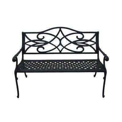 Superb Garden Treasures Aluminum Patio Bench Lowes Canada For Dailytribune Chair Design For Home Dailytribuneorg