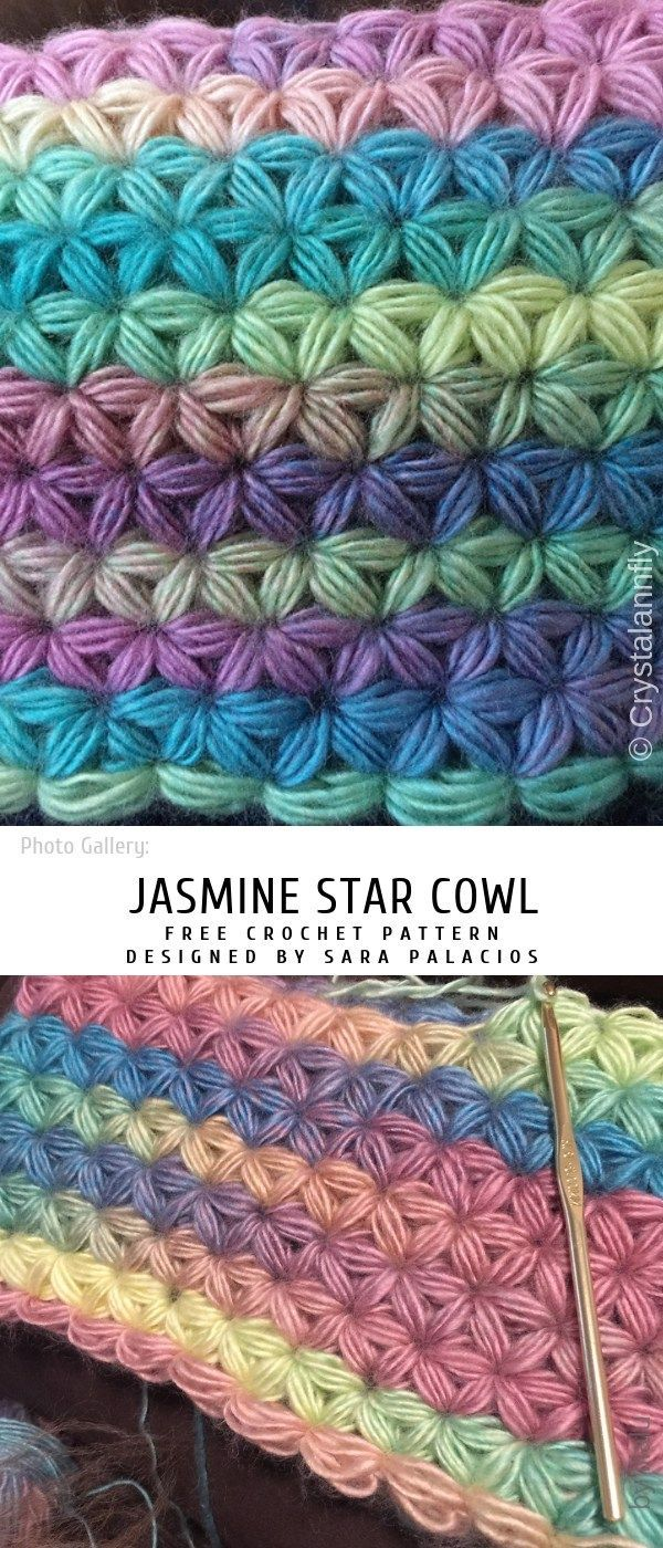 How to Easily Crochet Jasmine Stitch