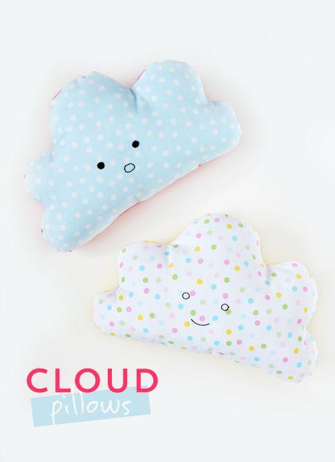 tutorial cloud pillows diy sewing cushions kissen n hen kissen n hen wolkenkissen und. Black Bedroom Furniture Sets. Home Design Ideas